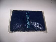 Vintage Turkish Airlines Blue Socks / Slippers - TURK HAVA YOLLARI -