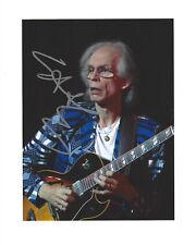 Steve Howe - SIgned 8x10 inch original concert photo