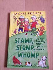 JACKIE FRENCH. STAMP, STOMP, WHOMP. 0207197857