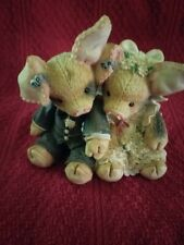 """1994 Enesco This Little Piggy """"To Hog And To Hold"""" Figurine"""