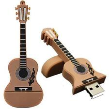 Minigz Guitar Musical Instrument Music USB 64GB Pc Computer Memory Flash Drive