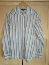 mens BEN SHERMAN STRIPED SHIRT SIZE MEDIUM