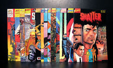 COMICS: First: Shatter #1-14 (1985), 1st Computerized Comic series - RARE