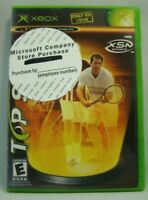 Top Spin (Microsoft Xbox, 2003) New read description!