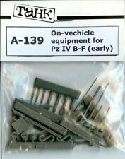 TAHK Tank 1:35 On-Vehicle Equipment for Pz IV B-F Early Resin Detail # A-139
