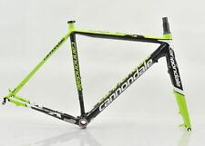 2013 Cannondale SuperX Hi-Mod Carbon Cyclocross Disc Frameset 52cm Green/Black