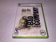Battlefield Bad Company (Microsoft Xbox 360) Original Release Complete Exc!