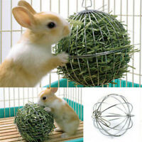 Sphere Feed Dispense Exercise Hanging Hay Ball Guinea Pig Rabbit Pet Toy