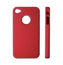 HOUSSE ETUI COQUE PROTECTION ★★ IPHONE 4 4S ★★ ROUGE FONCE RED CASE