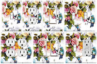 Hummingbirds Painting - Graphics Art Toggle/Rocker/GFCI/Outlet Wall Plate