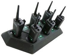 MOTOROLA GP300 UHF 4 W two way Talkie-Walkie Radios & G-FORME OREILLETTE x 6