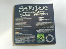 2 TRACK PROMO CD SAFRI DUO FEAT. MICHAEL McDONALD - SWEET FREEDOM - SPAIN 2002