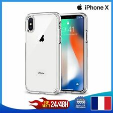 Coque LUXE Fine ETUI Cover Protection Pour iPhone X Transparent Slim TPU