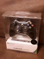 Xbox 360 Wireless Controller Chrome Series Black Special Edition - VERY RARE New