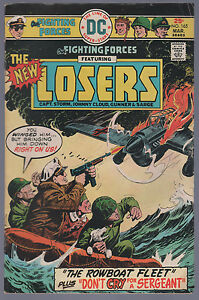Our Fighting Forces #165 Bronze War The Losers Very Good + DC 1954 Series CBX1V