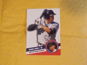 Aaron Judge Rookie 2014 Fall League Prospect New York Yankees