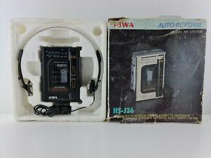 Aiwa HS-J36 autoreverse recording walkman FM radio ovb boxed