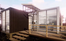 40'ftX2 Shipping Container Home 3Bd/2Bth/3Car 1752 sqft Solar+WaterGen+GuestHse