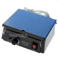 Dental Analog LED Wax Heater Heating Dipping Pot Equipment for Lab 110V/220V SS