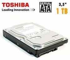 "HARD DISK TOSHIBA HD INTERNO 1000GB SATA 3,5"" 1TB HDD 1TERA 1000 GB 7200 RPM"