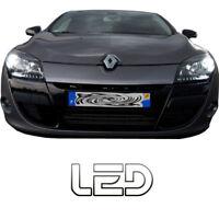 Renault Megane 3 - 2 Ampoules Veilleuses Feux Position LED Blanc Anti erreur ODB