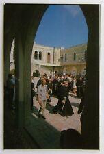 Jerusalem First Station of the Cross Postcard (P257)