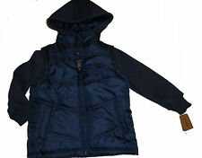 NEW TIMBERLAND JEANS PUFFER BOMBER JACKET BLUE/NAVY 3T 3 YEARS STYLISH AUTHENTIC