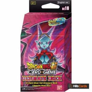 Dragon Ball Super Card Game Unison Warrior Ultimate Deck DBS-BE16 Z Inc Booster