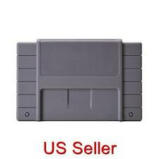 SNES Case Replacement Cartridge Case Snap On Grey