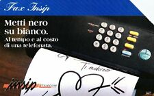 G 585 C&C 2646 SCHEDA TELEFONICA USATA FAX INSIP  L 15.000