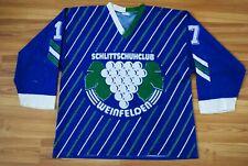 SCHLITTSCHUHCLUB WEINFELDEN SWITZERLAND HOCKEY JERSEY SHIRT VINTAGE 80S-90S RARE