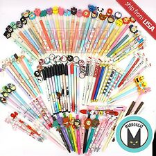 20 pc Assorted Kawaii Cute Ball Point Pen Mechanical Pencil Cat Cartoon gift set