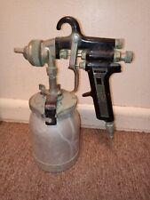 Binks model 7 spray gun with cup. Paint Gun!