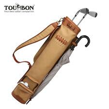Tourbon Wasserdichte Canvas Golf Club Reisetasche mit gepolstertem Schultergurt