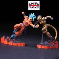 Anime Dragon Ball Z Figure Super Saiyan Goku Gold Frieza Confrontation Model Toy