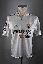 Real madrid camiseta talla s 2004-2005 Home adidas Jersey españa Siemens