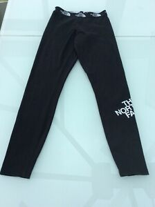 The North Face Womens Leggings Activewear Fitness Sports Gym sz Xs GC £12.50