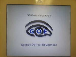 GRIMES VC1701 VISION CHART