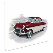 Ford Zodiac MkII Cars Canvas Wall Art Picture Print