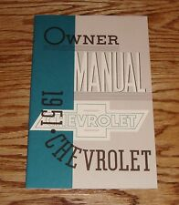 1951 Chevrolet Owners Operators Manual 51 Chevy