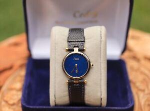 Montre Must de Cartier  plaqué or Vintage