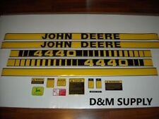 To fit John Deere 4440 tractor decal set with caution kit and logo