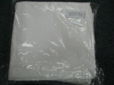 4 NEW pillow case cover std  20x30 white series T250 percale hotel linen premium