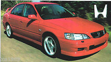 1998/1999 HONDA ACCORD TYPE R Especificaciones Hoja / Folleto