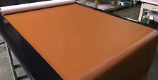 Marine Vinyl Fabric Automotive 5 Yards Saddle Brown Outdoor Boat  Upholstery 54""
