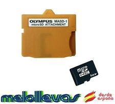 ADAPTADOR MICRO SD/HC A XD MASD-1 Y TARJETA MICRO SD 4 Gg - PARA OLYMPUS