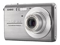 Casio EXILIM ZOOM EX-Z75 7.2MP Digital Camera - Silver (MPN)