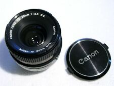 Objectif 28mm FD - 1: 3,5 /28. La grande classe sur votre numérique