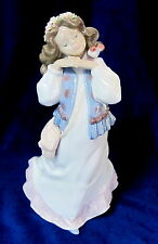 Lladro #6401 Dreams Of Summer Past Brand Nib Girl Flower Rare $170 Off Free S&H