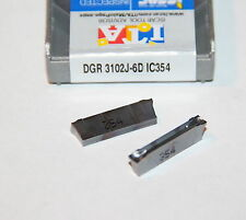 DGR 3102J-6D IC354  ISCAR *** 10 INSERTS *** FACTORY PACK ***
